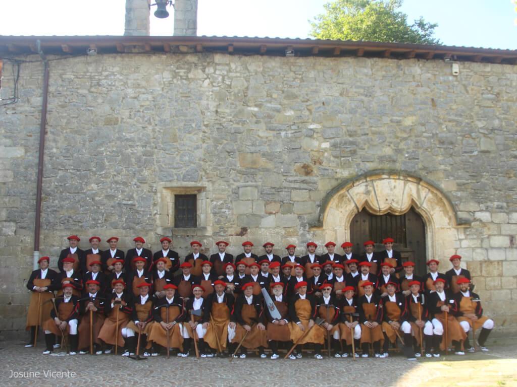 Escuadra de Hacheros Irun 2016